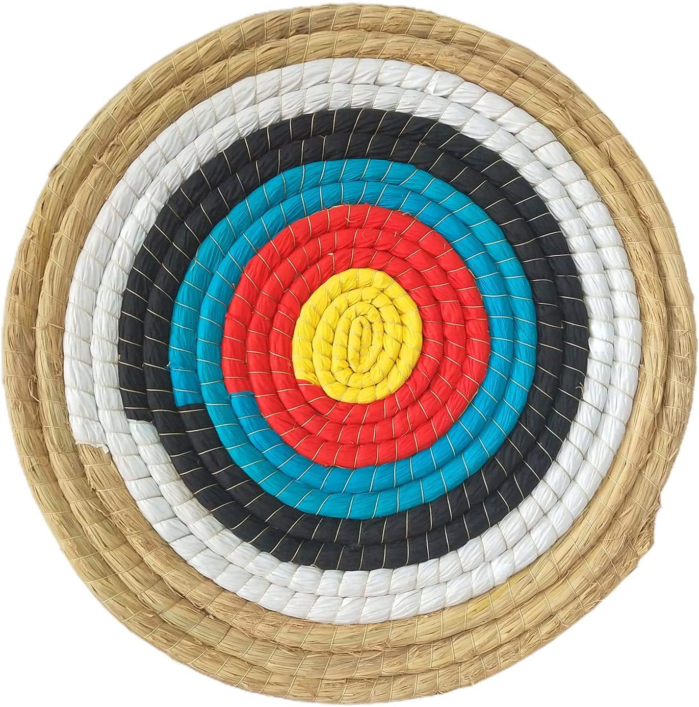 Supicity Outdoor Round Archery Target Hand-Made Straw T Max Long Beach Mall 45% OFF 45x45CM