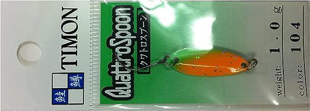 JACKALL(ジャッカル) スプーン ティモン クワトロスプーン 24.9mm 1.0g マエチンオレンジ #104
