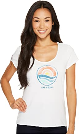 Life is Good - Sunrise Smooth Tee