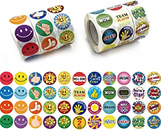 3000 Pack Reward Stickers for Teachers. Fun Motivational & Incentive Stickers for Kids. Trendy Animal Meme Stickers for Al...
