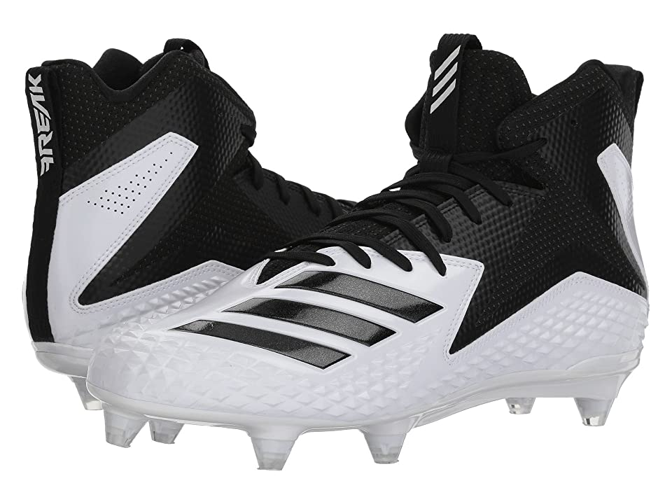 adidas Freak Mid D (Footwear White/Core Black/Core Black) Men