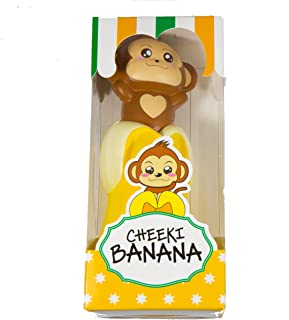 Puni Maru Cheeki's Magical Banana Yellow Banana Smiling Cheeki