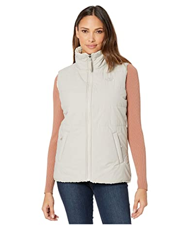 The North Face Merriewood Reversible Vest (Dove Grey/Vintage White) Women