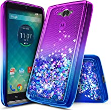 NageBee Droid Turbo Case, Glitter Liquid Quicksand Waterfall Floating Flowing Sparkle..