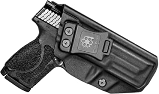 """Amberide IWB KYDEX Holster Fit: S&W M&P 9/40 M2.0 Compact 4"""" Barrel 
