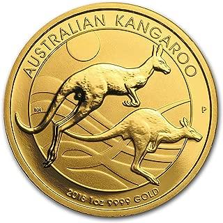 2018 AU Australia 1 oz Gold Kangaroo BU 1 OZ Brilliant Uncirculated