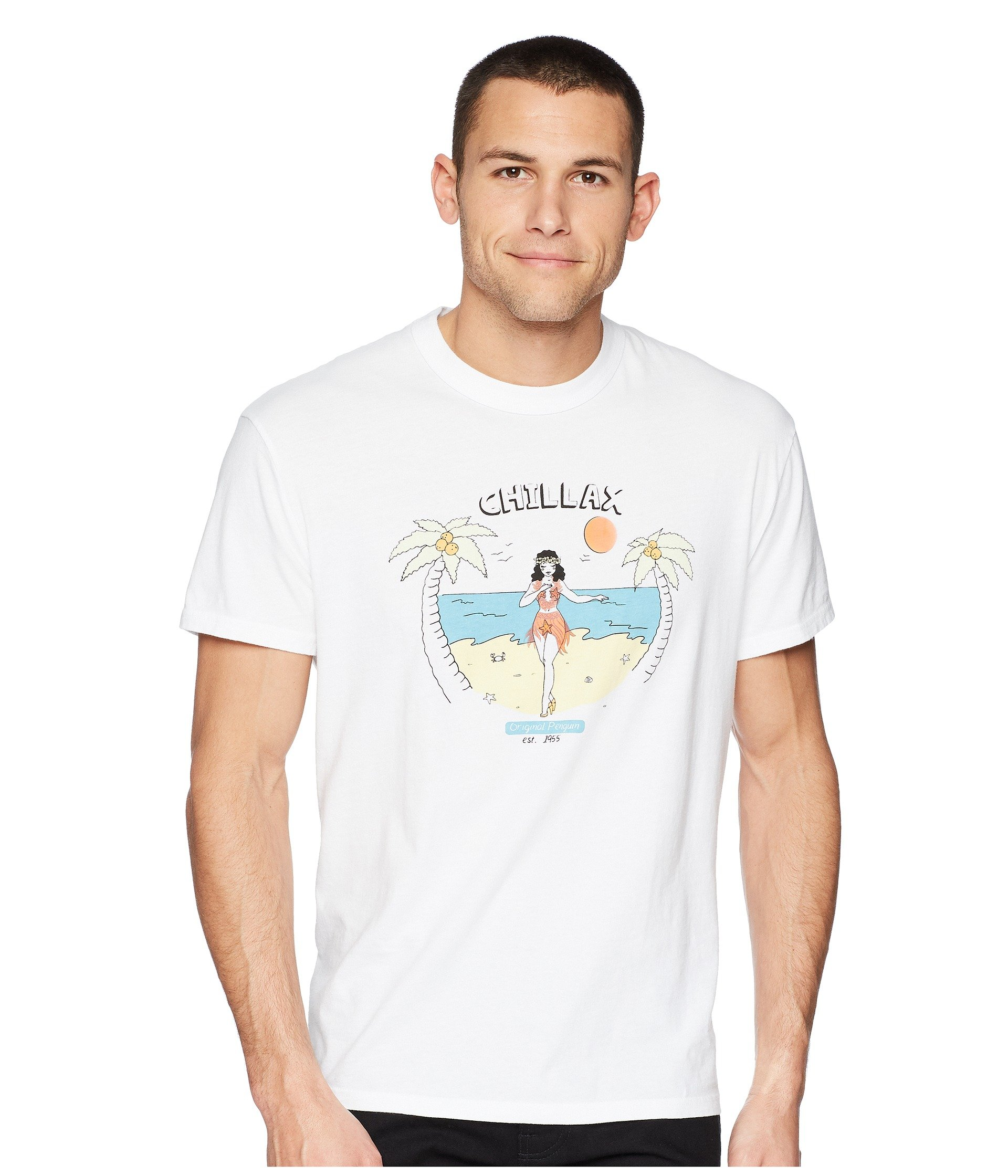Camiseta para Hombre Original Penguin Chillax T-Shirt  + Original Penguin en VeoyCompro.net