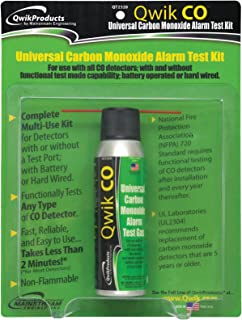 Qwik CO Universal Carbon Monoxide Alarm Test Kit