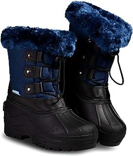 أحذية الثلج للأطفال الصغار والأولاد والبنات من زوجز