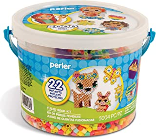 Perler Beads Girl's Crafts 'Fairy Friends' Fuse Bead Pattern Kit, 22 Projects, 5000pc
