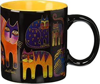 Laurel Burch Artistic Mug Collection, Fantastic Feline Totem