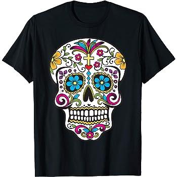 Blue Skulls Pick Your Size T Shirt 7 X Large 14 X Large