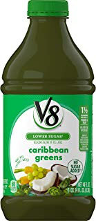 V8 Caribbean Greens, 46 oz. Bottle