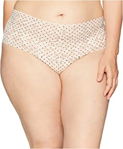 Plus Size Pixie Dot Retro Thong