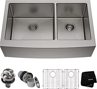 Best double farmhouse sink Reviews