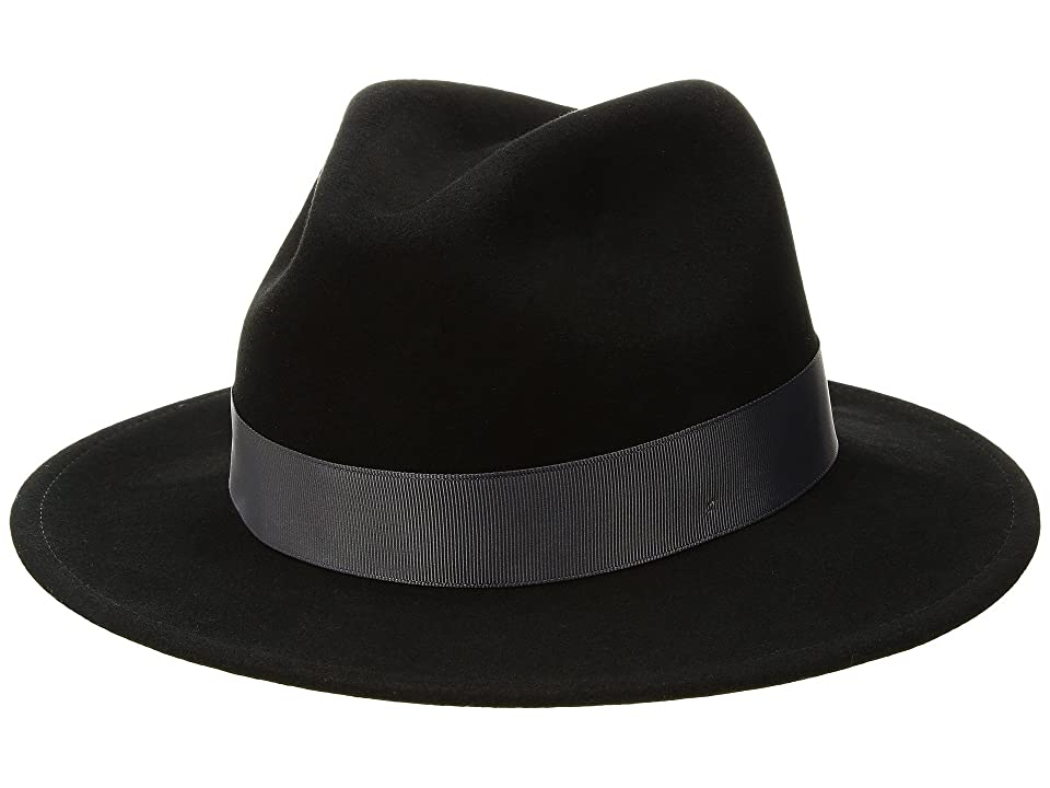 1930s Mens Hat Fashion Betmar Sawyer Black Caps $85.00 AT vintagedancer.com