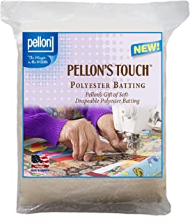 Pellon Quilters Touch Polyester Batting Twin Size - 72