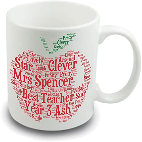ecac37a7caf Personalised Mugs for Teachers: Amazon.co.uk
