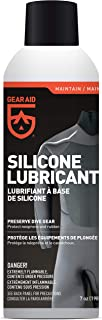 GEAR AID Silicone Lubricant Spray for Neoprene and Rubber Gear, 7 oz