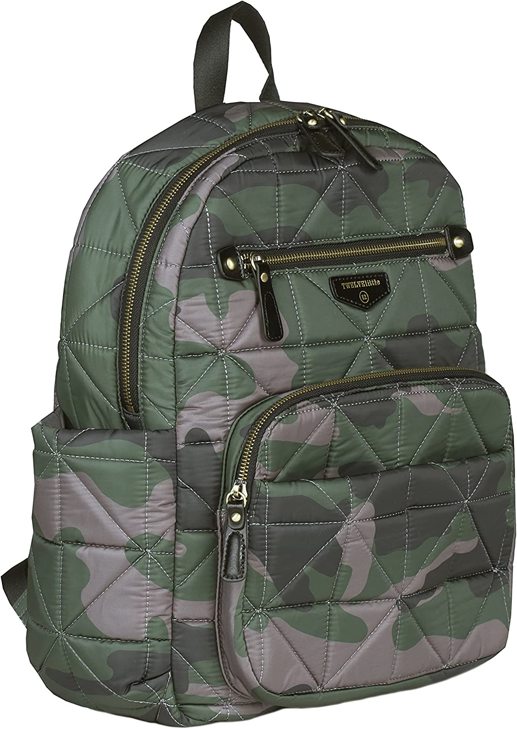TWELVElittle Companion Diaper Bag Backpack Platinum 1.0 Includes changing pads and insulated pockets