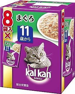 カルカン パウチ 高齢猫用 11歳から まぐろ 70g×8袋入り [キャットフード]