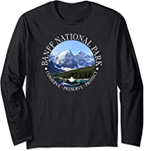 Banff National Park Conservation Long Sleeved T-Shirt