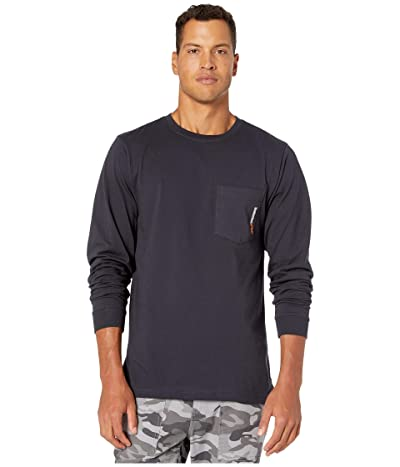 Timberland PRO Base Plate Blended Long Sleeve T-Shirt (Dark Navy) Men