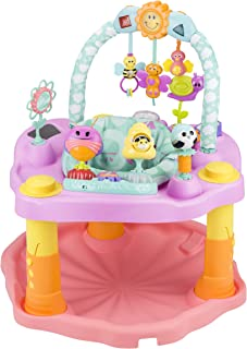 Evenflo ExerSaucer Activity Center, Double Fun Bumbly, Pink