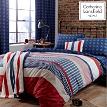 PCJ SUPPLIES TWIN AMERICAN STARS AND STRIPES RED WHITE AND BLUE UNITED STATES COTTON DUVET SET QUILT COVER