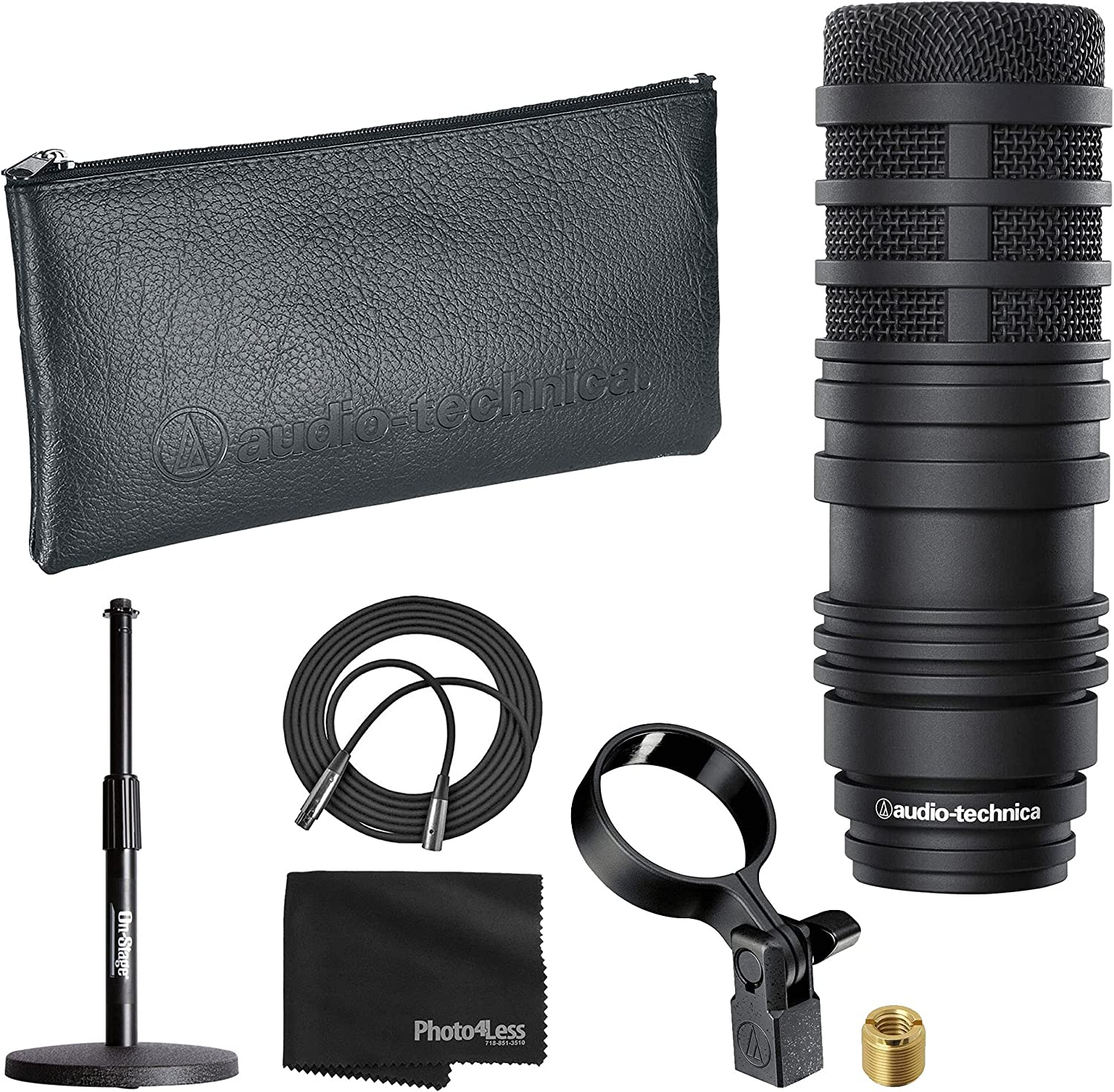 Sales Audio-Technica Max 90% OFF BP40 Large Diaphragm Broadcast Microphone Dynamic