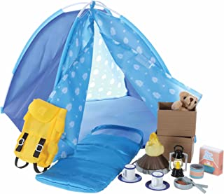 Lottie Dolls Camping Playset | Doll Camping Toys for Girls & Boys | Toy Campfire Doll Camping Accessories | Boy & Girl Cam...