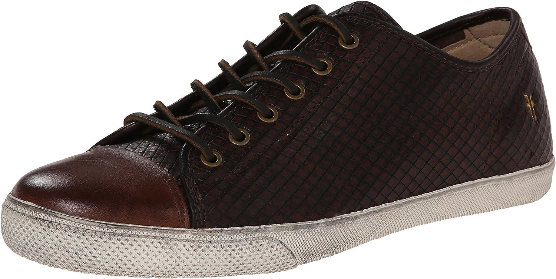 Frye Men's Chambers Cap Low Fashion Sneaker Brown