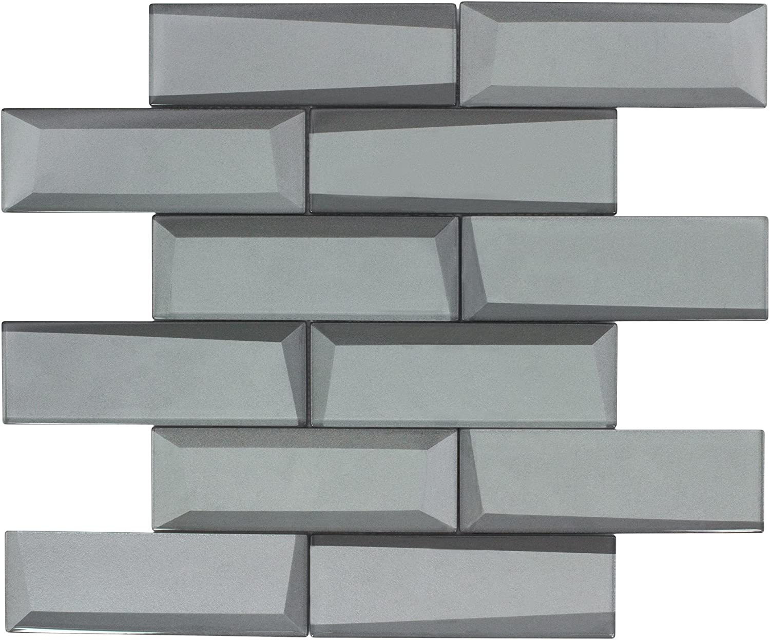 mto0160 modern 2x6 faceted beveled