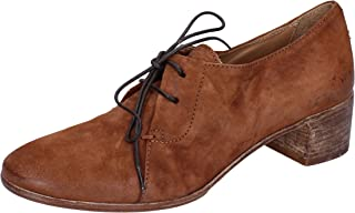 MOMA Oxfords Womens Suede Brown