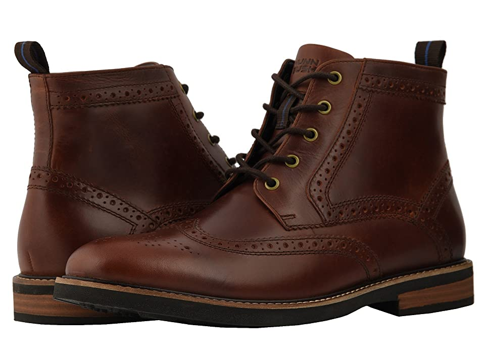 Nunn Bush Odell Wingtip Boot with KORE Walking Comfort Technology (Rust) Men