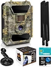 LTE 4G Cellular Trail Cameras – Outdoor WiFi Full HD Wild Game Camera with Night Vision for Deer Hunting, Security - Wirel...