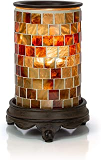 VP Home Mosaic Glass Fragrance Warmer (Radiant Sienna)