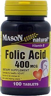MASON NATURAL, FOLIC Acid 400MCG