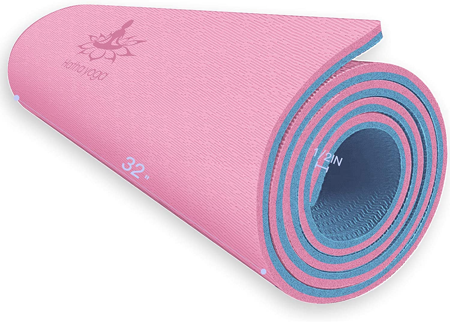 Hatha Yoga Free shipping / New Extra Thick TPE Mat Free shipping on posting reviews - 2 1 72