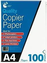 A4 Copier Paper 100 Sheets 75gsm PHOTOCOPY, LASER & INKJET PRINTER