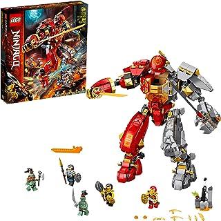 LEGO NINJAGO Fire Stone Mech 71720 Building Kit Featuring Ninja Mech (968 Pieces)