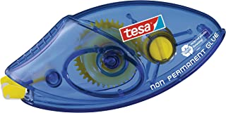 tesa UK Tesa 59190 Single Use Adhesive Roller, 8.4Mm X 8.5M with Non Permanent Glue
