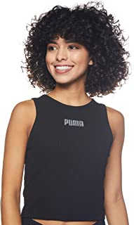 PUMA Women's Modern Basics Ribbed Tank
