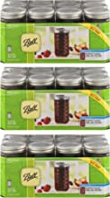 Ball Quilted Crystal Jelly Jars 12 Oz - 3 PACK