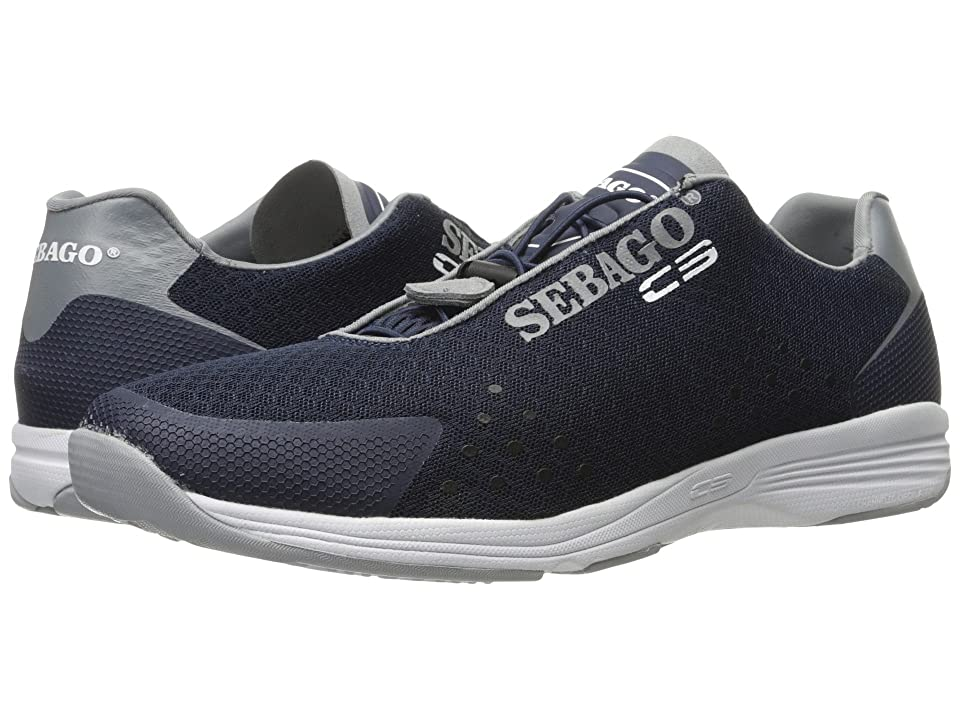 Sebago Cyphon Sea Sport (Navy/Grey Textile) Men