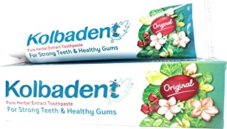 Kolbadent Herbal Toothpaste for bad breath and healthy gum 160g (160 g)