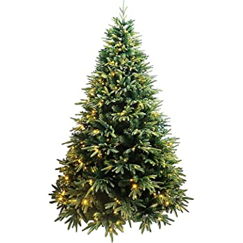 7ft Unite Spring Spirits Fir Christmas Tree with Real-Feel PE Tips and Metal Stand