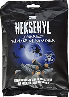 Toms Heksehyl Salzlakritze mit Salmiak, 300 g