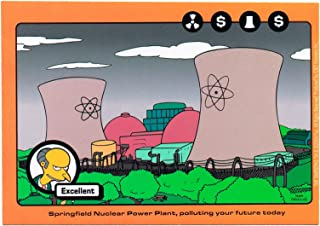 STICKER - The Simpsons Springfield Nuclear Power Plant Decal SB24