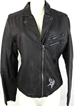 Womens Touch Minnesota Vikings Side Zip Faux Leather Jacket with Zipper Accents, Size Small